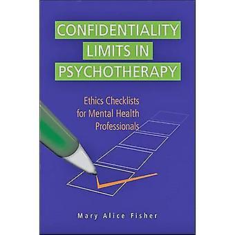 Grenzen van vertrouwelijkheid in de psychotherapie - ethiek controlelijsten voor geestelijke
