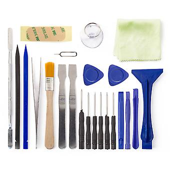 23pcs Toolkit Opening Tools for Notebook, Tablet, iPad, electronic, phone +more