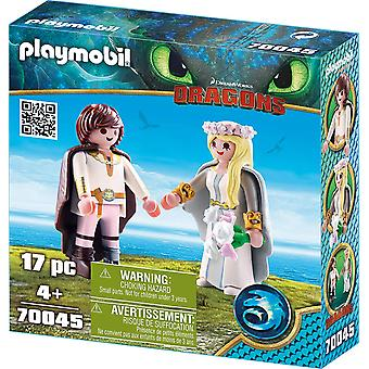 Playmobil 70045 Dragons - Astrid en hik