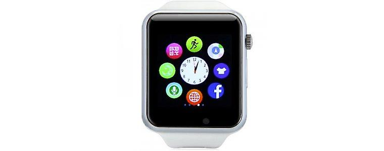 Stuff Certified® Original A1 / W8 Smartwatch Watch OLED Smartphone Android iOS White