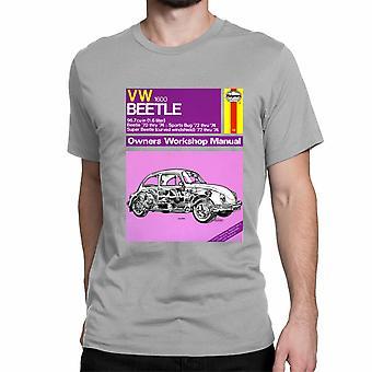 Officiële Haynes handmatige T-shirt Unisex VW kever 1.6L ' 70 thru ' 74 Owners Workshop Manual