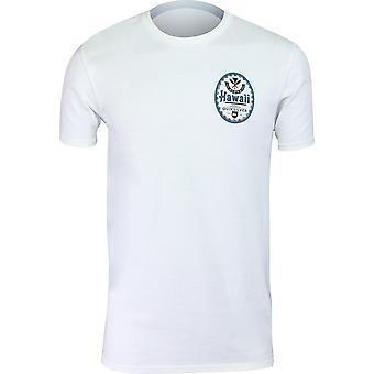 Quiksilver Herren HI Bier Hawaii T-Shirt-weiß