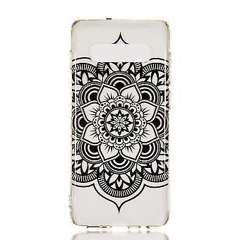 MTK Samsung Galaxy S10 + Patrón TPU-Flor