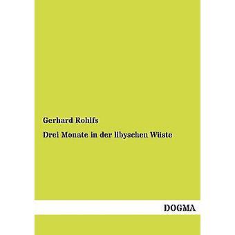 Drei Monate in der libyschen Wste by Rohlfs & Gerhard