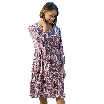 In Town Dress 381519 Purple