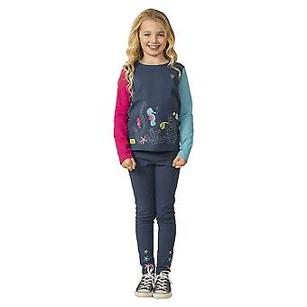 Lighthouse Causeway Girls Top Seahorse Print