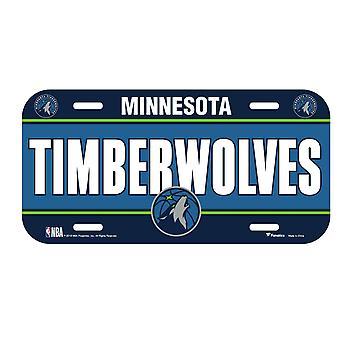 Fanatics NBA license plate - Minnesota Timberwolves