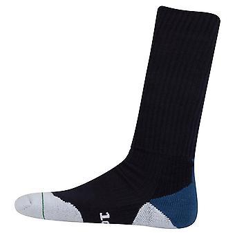 New 1000 Mile Fusion Running Socks Black