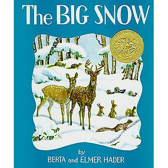 Big Snow by Elmer Hader - Elmer - 9780027379105 Book