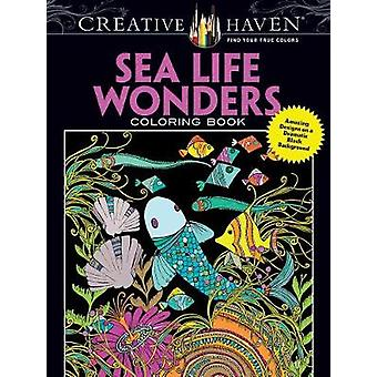 Creative Haven Sea Life Wonders Coloring Book - Amazing Designs on a D
