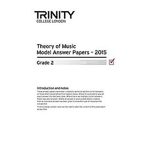 Theory Model Answer Papers Grade 2 2015 - 9780857365170 Book