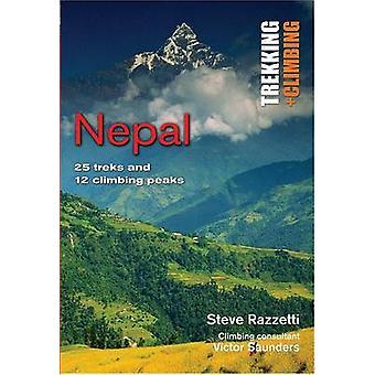 Nepal - 25 Treks and 12 Climbing Peaks by Steve Razzetti - Victor Saun