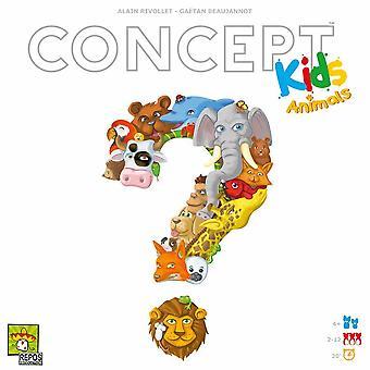 Koncepce děti: zvěř hrací deska