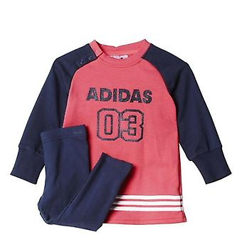 Adidas Girls Infant Tracksuit Set