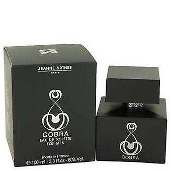 Cobra By Jeanne Arthes Eau De Toilette Spray 3.3 Oz (men) V728-462993