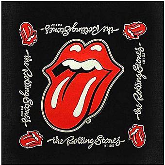 Rolling Stones est 1962 katoenen bandana 550 x 550 mm (rz)