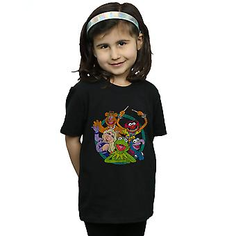 Disney Girls The Muppets Group Circle T-Shirt