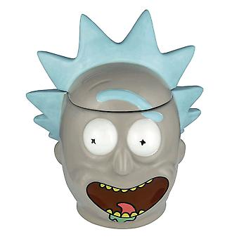 Rick and Morty Rick 3D Mug with Lid