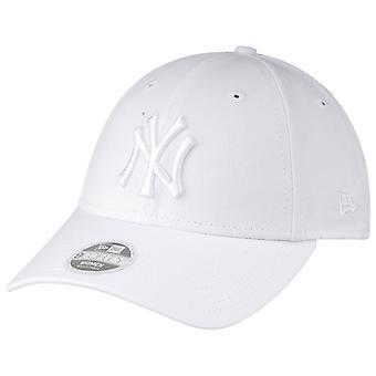ニューエラ 9Forty レディース キャップ - ニューヨーク ヤンキース ホワイト