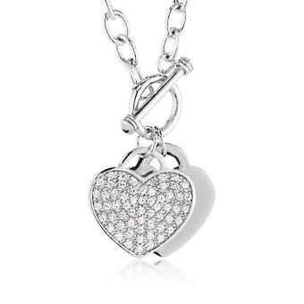 Pasionist 602394 - Women's Collier with cubic zirconia - silver sterling 925 - 430 mm