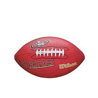 Wilson Nfl San Francisco 49ers Team Logo Junior fotboll