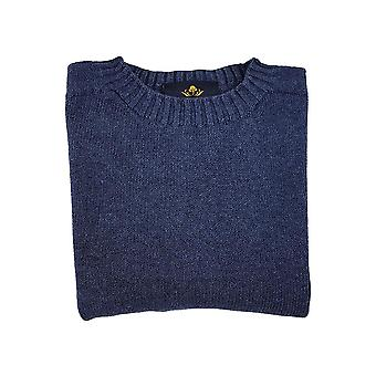 Pure dakota cotton crew neck jumper - jeans