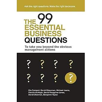 The 99 Essential Business Questions: To take you beyond the obvious management actions