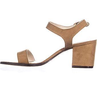 Style & Co. dame Mollee læder peep tå casual slingback sandaler