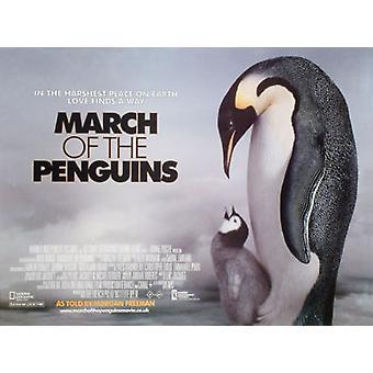 Maaliskuun pingviinit (yksipuolinen) alkuperäinen elokuva juliste