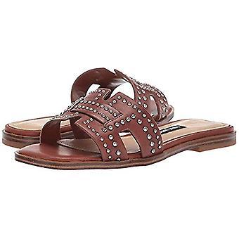 Nove mulheres ocidentais ' s Genesia studded slide sandália