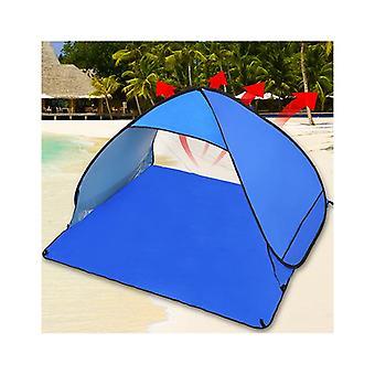 Mountview Pop Up Portable Beach Canopy Sun Shade Per 2