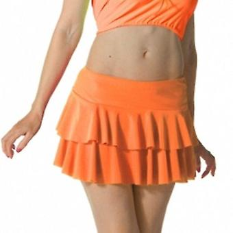 Wicked Nights Orange Ra-Ra Skirt L/XL
