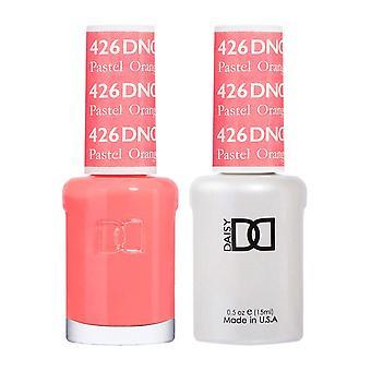 DND Duo Gel & Nail Polish Set - Pastel Orange 426 - 2x15ml