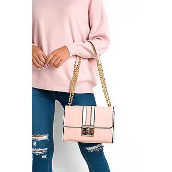 IKRUSH Womens Brooke Striped Shoulder Bag