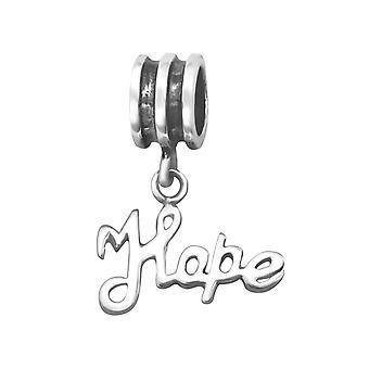 Hoffnung - 925 Sterling Silber Plain Beads - W5348X