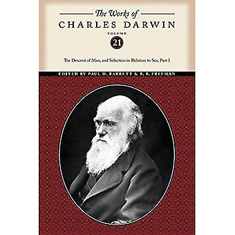 The Works of Charles Darwin, Volume 21: The Descent of Man, and Selection in Relation to Sex (Part One)