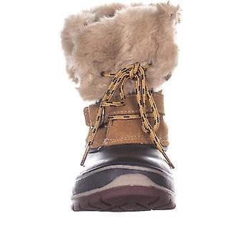 Khombu Brooke Mid Calf Winter Boots, Brown/Coffee