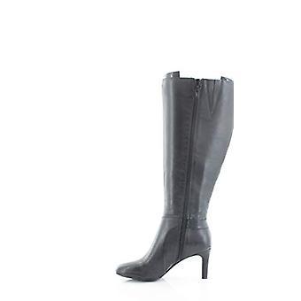 Alfani Dámske Perrii kožené mandľové Toe kolená vysoké módne topánky