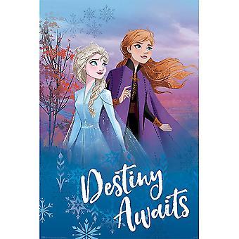 Frozen 2 Destiny aguarda cartaz