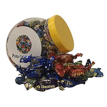 250g Pot de Marcheurs Emballés Individuellement Toffees assortis