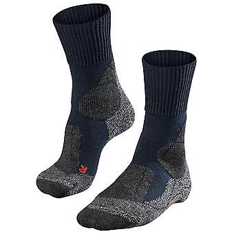Falke trekking 1 ekstra styrke sokker-Marine Navy