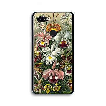 Google Pixel 3 XL Transparent Case (Soft) - Haeckel Orchidae