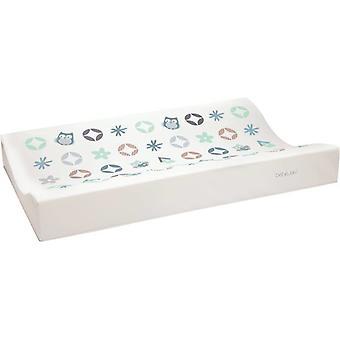 Bebe-Jou Wash Cushion Owl Family Mint