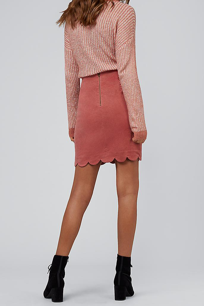 Louche Alicja Cord Mini Skirt Pink