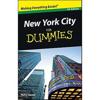 New York City For Dummies par Myka Carroll