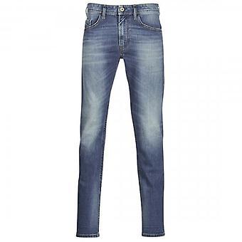 Diesel Thommer Tinted Blue Denim Jeans 089AR
