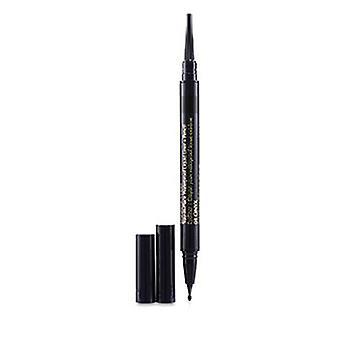 Estee Lauder Double Wear Stay In Place Wasserdichte Flüssigliner + Bleistift - 01 Onxy 0,53g/0,012un