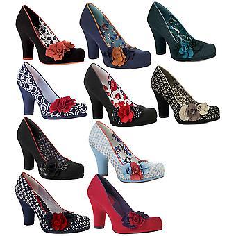 روبي شو إيفا المحكمة مضخات الأحذية