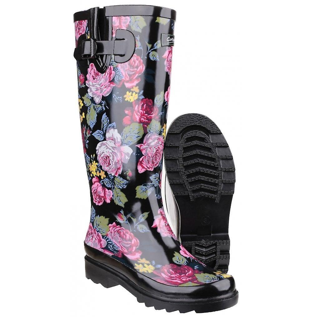 Cotswold Rosefest Wellington Boot Black