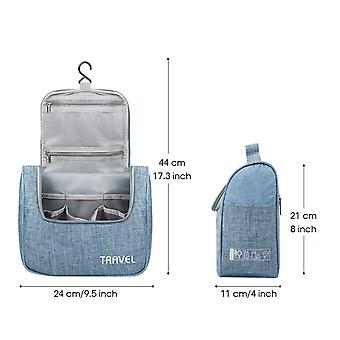 Hanging Toiletry Bag Travel Cosmetic Organizer, A-Light Green, Size No Size